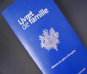 French Livret De Famille And Double Nationality Living