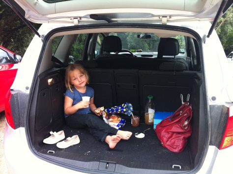 Goûter in the Trunk
