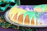 Traditional Louisiana King Cake