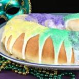 Traditional Louisiana King Cake
